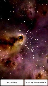 Space! Stars & Clouds 3D Free pc screenshot 1