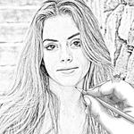 Pencil Drawing Art icon