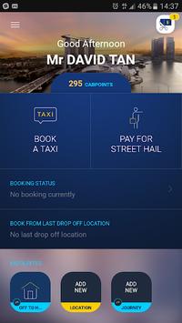 ComfortDelGro Taxi Booking App pc screenshot 1