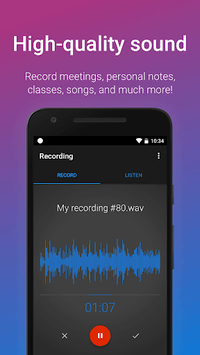 Easy Voice Recorder pc screenshot 2