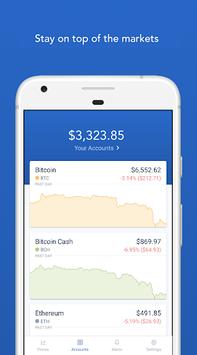 Coinbase – Buy and sell bitcoin. Crypto Wallet pc screenshot 1