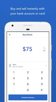 Coinbase – Buy and sell bitcoin. Crypto Wallet pc screenshot 2