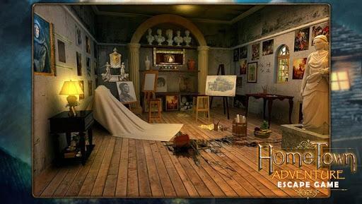 Escape game:home town adventure pc screenshot 1