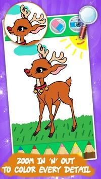 Coloring games for kids animal pc screenshot 1