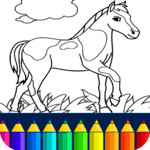Horse Coloring Book icon