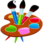 Painting and drawing game for pc logo