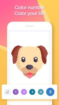 Sandbox Pixel Art & Color by Number Pixel Coloring pc screenshot 1