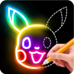 Learn to Draw Glow Cartoon for pc logo