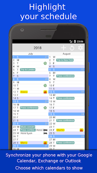 The Calendar Pro pc screenshot 2