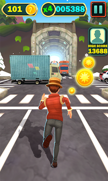 Subway Rush Runner pc screenshot 2