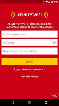 Xfinity WiFi Hotspots pc screenshot 1