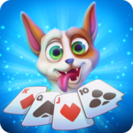 Solitaire Pets Arena - Online Free Card Game icon
