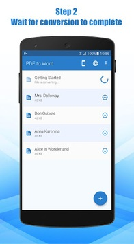 PDF to Word Converter pc screenshot 1