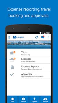 SAP Concur pc screenshot 1