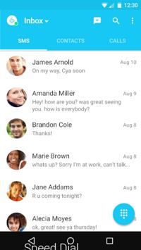 Messages + SMS pc screenshot 1