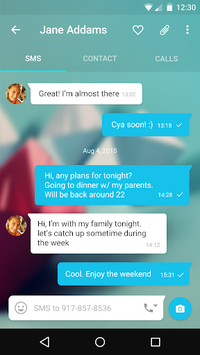 Messages + SMS pc screenshot 2