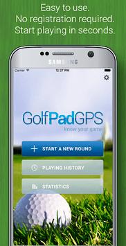 Golf GPS Rangefinder: Golf Pad pc screenshot 1