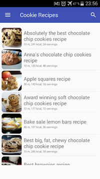 Cookie recipes with photo offline pc screenshot 1