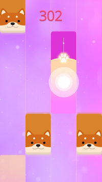 Magic Cat Piano Tiles - Pet Pianist Tap Animal pc screenshot 2