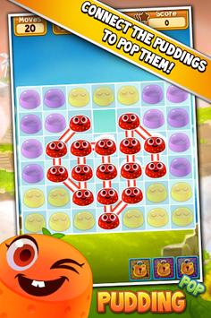 Pudding Pop - Connect & Splash Free Match 3 Game pc screenshot 1