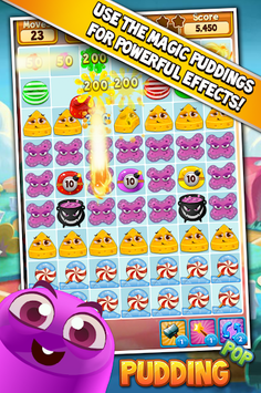 Pudding Pop - Connect & Splash Free Match 3 Game pc screenshot 2