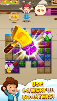 Sweet Road: Cookie Rescue Free Match 3 Puzzle Game pc screenshot 2