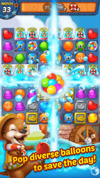 Water Splash - Cool Match 3 pc screenshot 2
