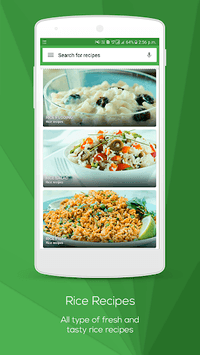 Rice Recipes pc screenshot 1