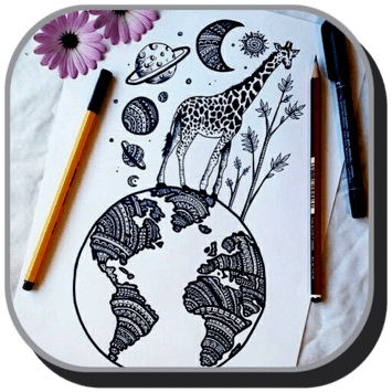 Cool Art Drawing Ideas pc screenshot 1