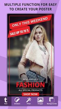 Poster Maker, Flyer Designer, Ads Page Designer pc screenshot 1