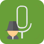 Secret voice recorder (SVR) for pc logo