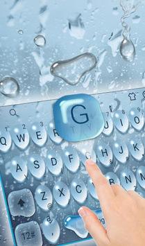 Raindrop Keyboard Theme pc screenshot 1