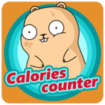 Calorie counter icon