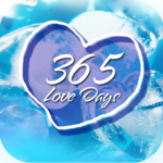 Count love days, love memory, love diary icon