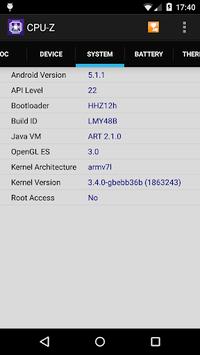 CPU-Z pc screenshot 1
