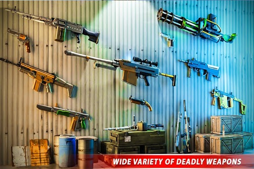 Counter Terrorist Robot Game: Robot Shooting Games PC screenshot 3