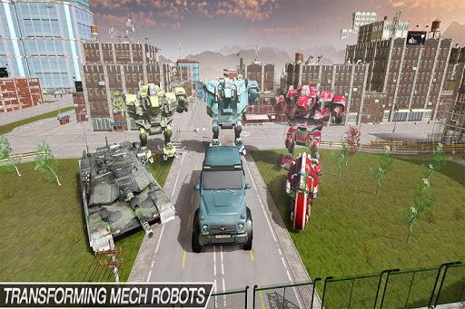 Mech Robot Transform Game – Endless robot wars pc screenshot 1