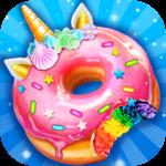 Unicorn Rainbow Donut - Sweet Desserts Bakery Chef icon