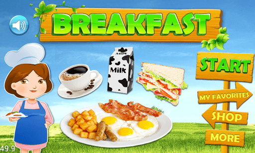Breakfast Food Maker! pc screenshot 1