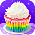 Cupcake Maker! Rainbow Chef for pc logo