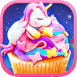 Rainbow Unicorn Foods & Desserts: Cooking Games icon