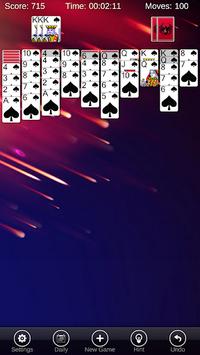 Spider Solitaire Pro pc screenshot 1