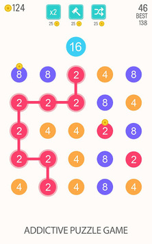 2 For 2: Connect the Numbers Puzzle pc screenshot 1