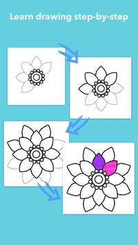 How To Draw Flowers pc screenshot 1