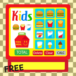 Kids Burger Cash Register for pc logo