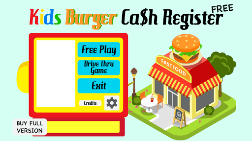 Kids Burger Cash Register pc screenshot 1