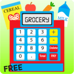 Kids Cash Register Grocery Free icon