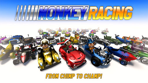 Monkey Racing Free pc screenshot 1