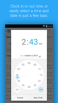 HoursTracker: Time tracking for hourly work pc screenshot 2