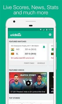 Cricbuzz - Live Cricket Scores & News pc screenshot 1